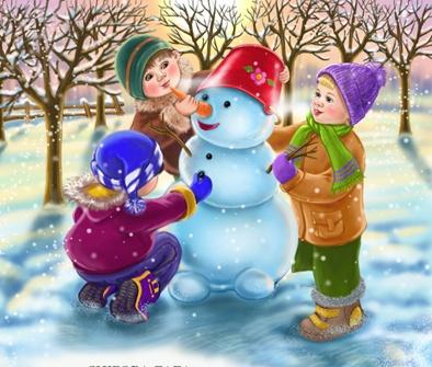 Зимние загадки для детей с ответами