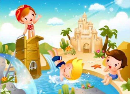 Картинки по запросу картинки дети летом
